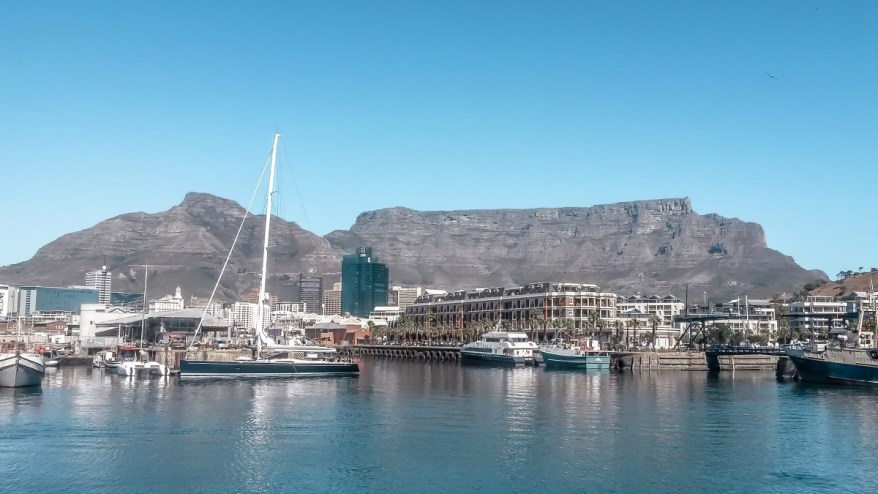Cape Town Waterfront. Budget destinations for families