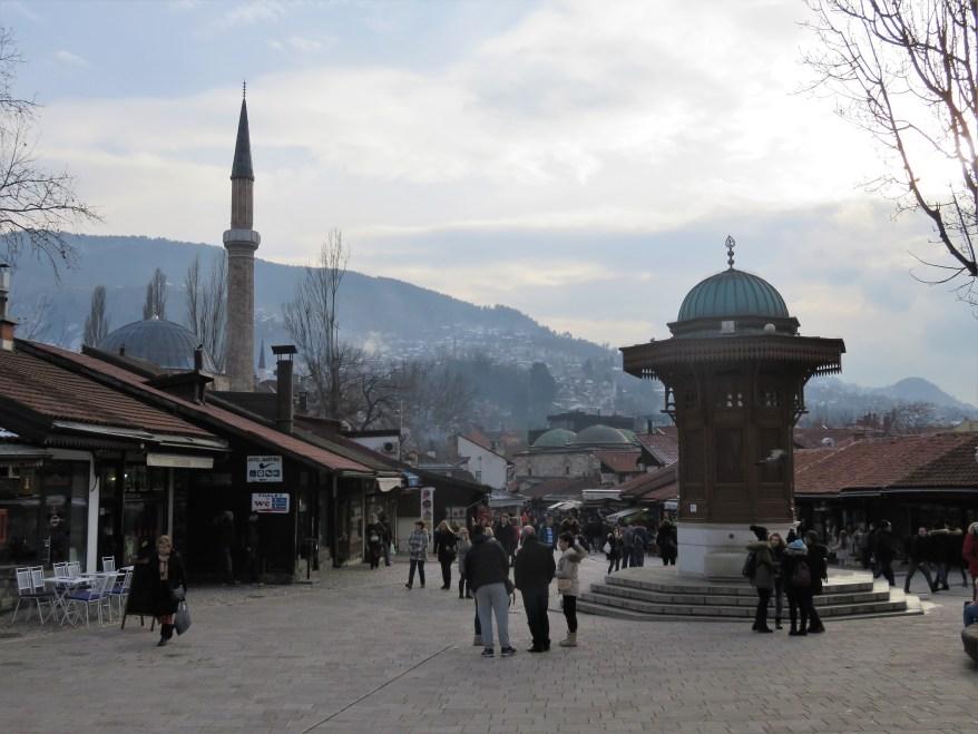 Sarajevo. Budget destinations for families.