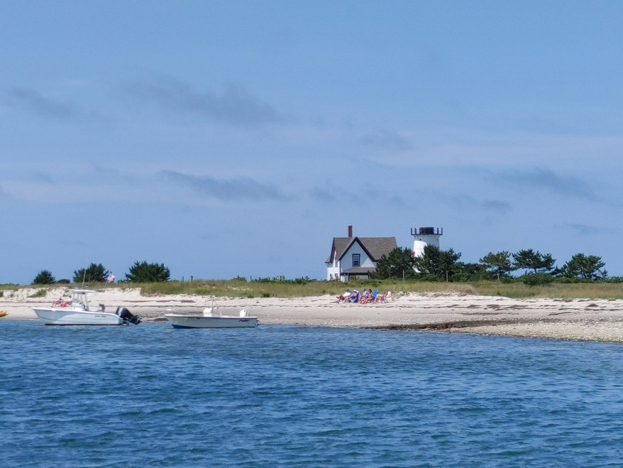 Cape Cod lighthouse, Stage Harbor, Cape Cod with Kids