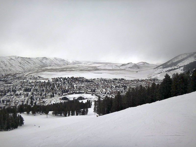 Jackson Hole, WY in winter