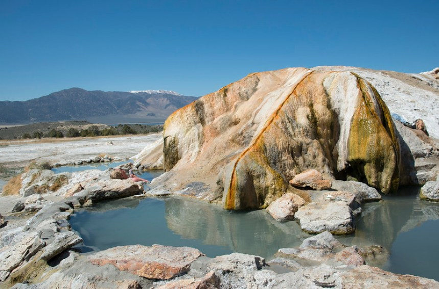 Travertine Hot Springs, hot springs for families in the USA