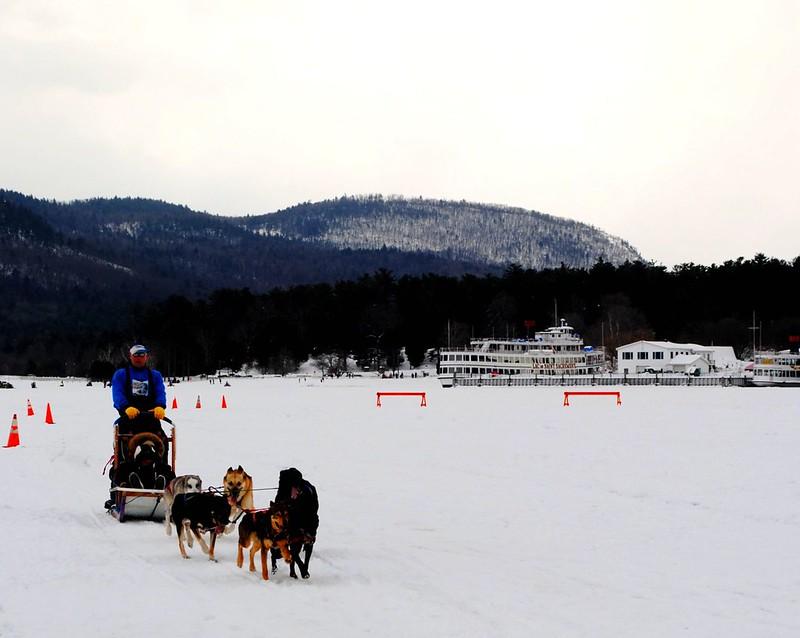 Lake George, cold winter family getaways