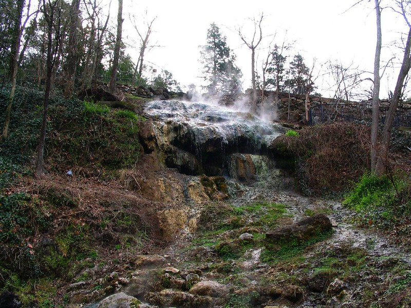 Hot Springs National Park, hot springs for families in the USA