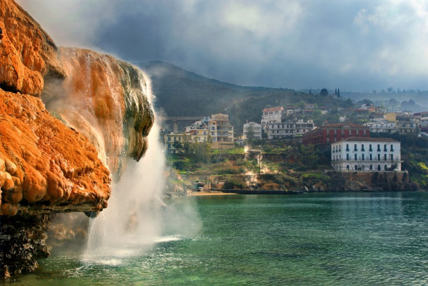 Edipsos spa, hot springs for families in europe