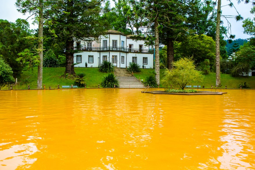 furnas, hot springs for families in Europe