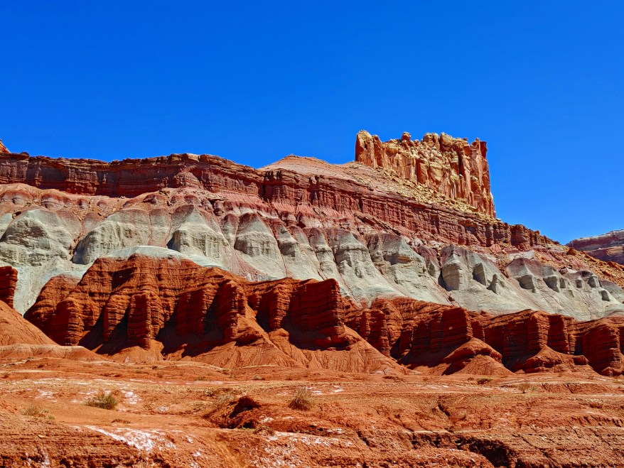 rock formations in Capitol Reef National Park