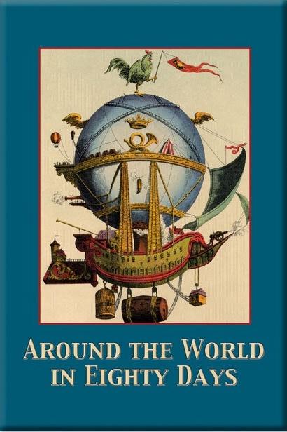 travel books to inspire wanderlust in kids: Around the World in 80 Days