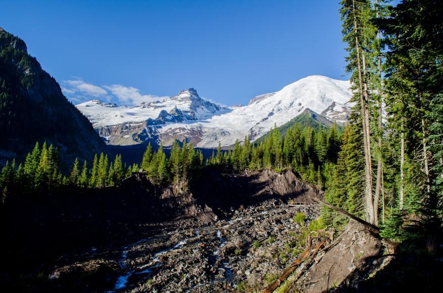 mount rainier national park, west coast girls' trips