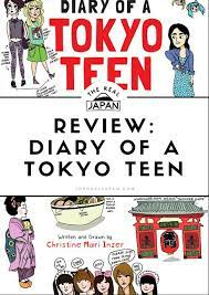 travel books to inspire wanderlust in kids: Diary of a Tokyo Teen