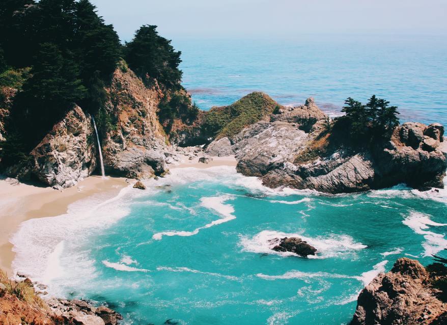 McWay Falls, west coast girls' trips