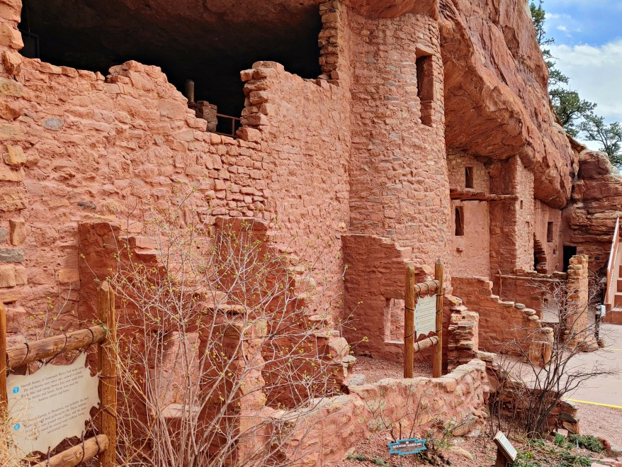 the Manitou Cliff Dwellings, a must see when visiting Colorado Springs with kids
