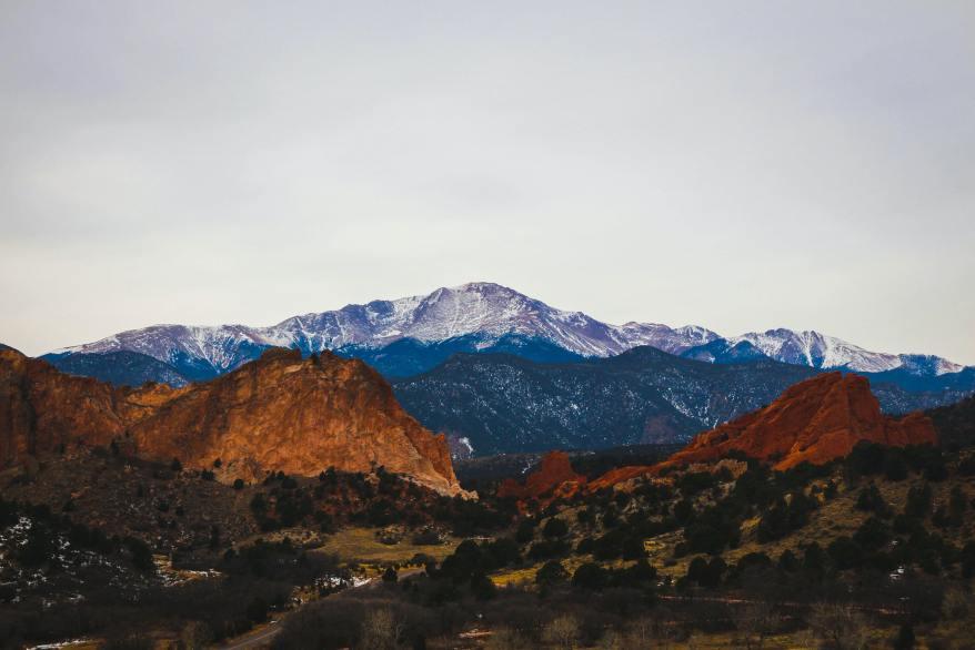 Colorado Springs, Pikes Peak
