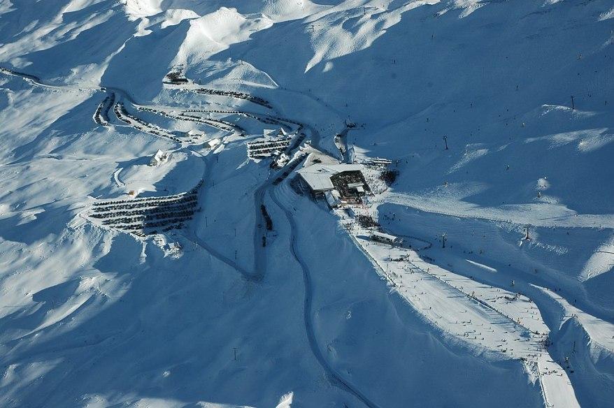 Coronet Peak, skiing in new zealand