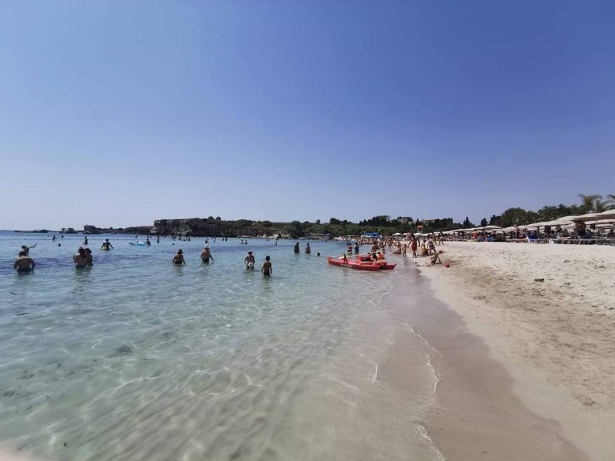 beach in Siracusa, family friendly cities in Italy