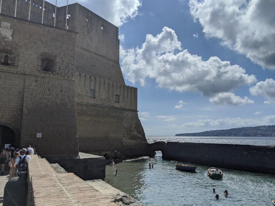 Castel del'Ovo Naples Italy