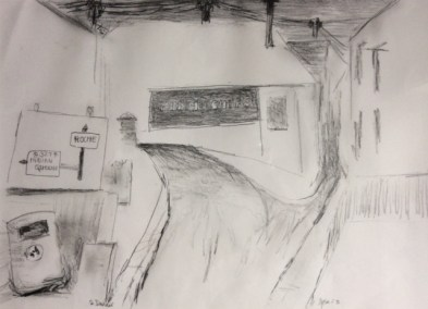 Julian Dyson - The Fish and Chip Shop, St Dennis - £220