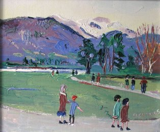 Fred Yates - 'Annecy' By The Lake - P.O.A