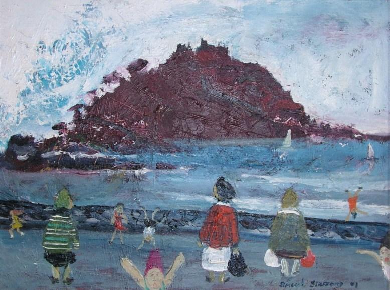 Simeon Stafford - St Michael's Mount, Cornwall - POA