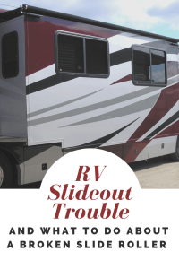 RV Slide Out Trouble -