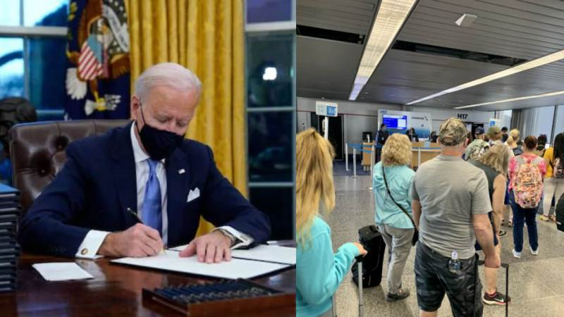 President Biden Signs Order Requiring Masks on Planes and Inside Airports