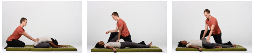thai massage moves to reduce low back tensiion
