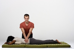 back massage -low back pain