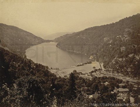 1885 A_complete_view_of_the_Nainital_town,