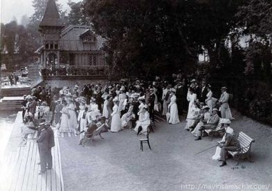 1900 The annual Boat House Regatta, dated