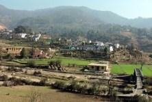 Hilly Village near Kanda