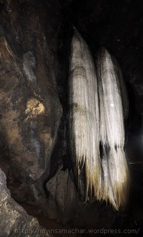 पातालभुवनेश्वर गुफा में भगवान शिव की जटाएं