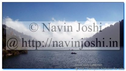 Clouds reaching Nainital