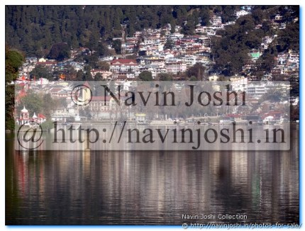 Nainital viewing itself in Mirror Like Naini Lake