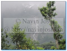 Water Fall as seen from Dolmar on NH87