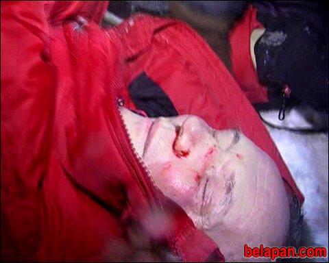Dieses Bild zeigt die Brutalität der Sicherheitskräfte.