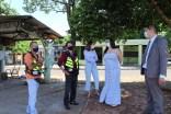 Prefeita Rhaiza Matos ao inaugurar e entregar os abrigos para mototaxistas de Naviraí (23)