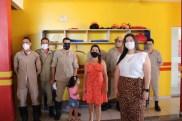 Prefeita Rhaiza Matos, vereadores Ricck e Regivan, e gerentes municipais participaram da vacinação de policiais civis, militares e bombeiros de Naviraí (35)