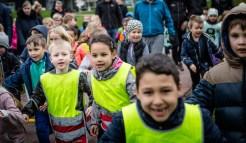 115.000 danske skoleelever deltog i Team Rynkeby Skoleløbet 2017. Foto: Thomas Nørremark