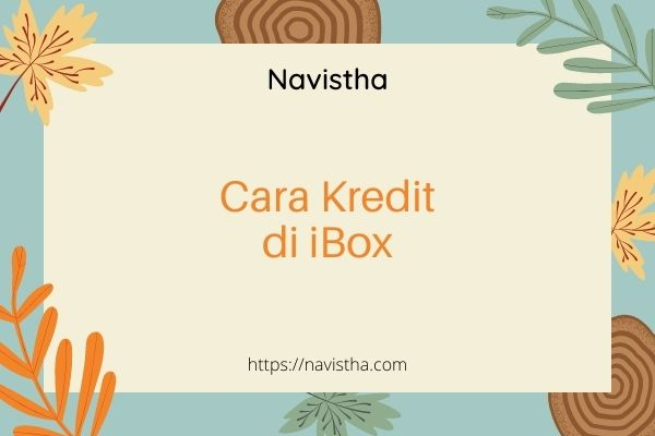 Cara kredit hp di ibox