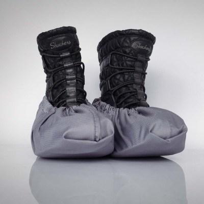 návleky na topánky / šedé