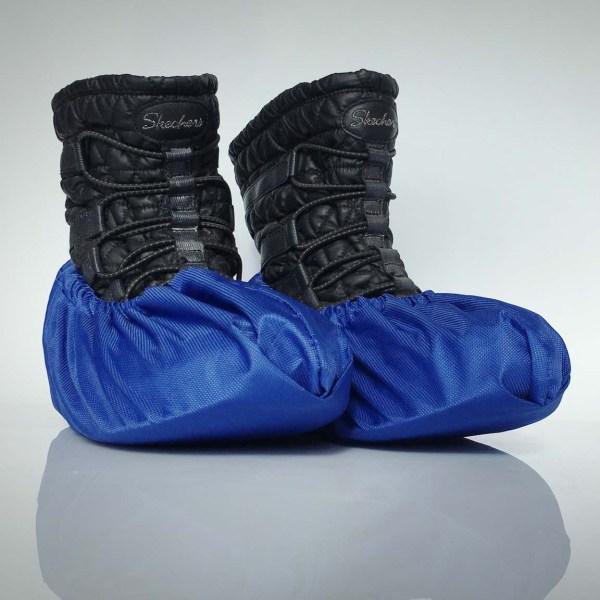 návleky na topánky / tmavomodré