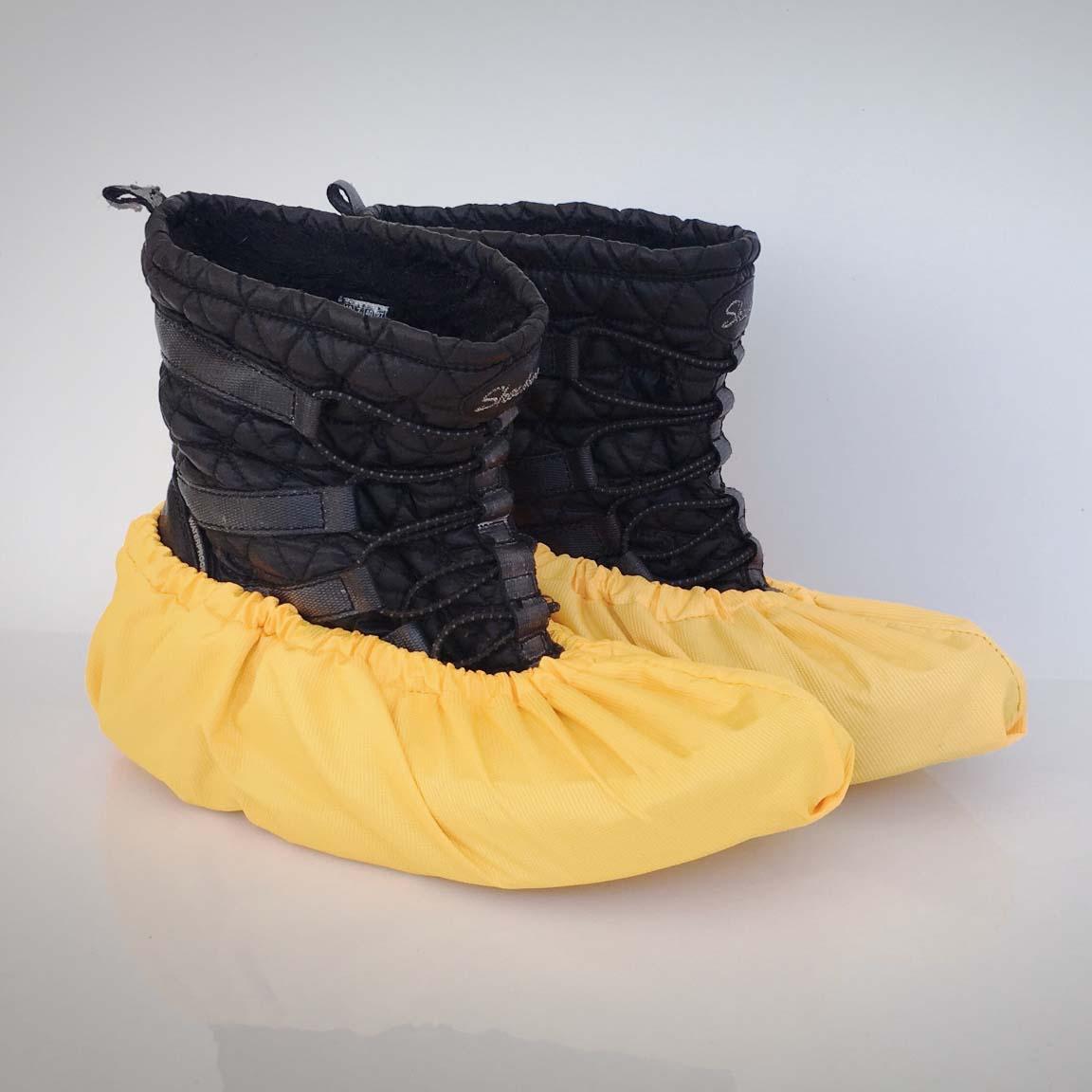návleky na topánky / žlté