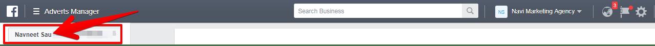 Ad Account Name