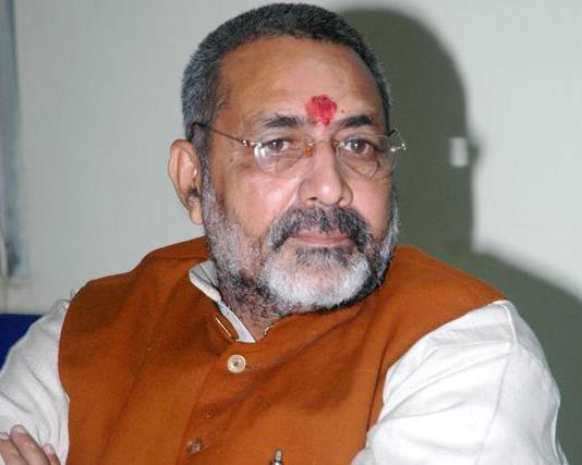 बीजेपी नेता गिरिराज सिंह ने कहा, जल्द हो राम मंदिर का निर्माण, हिंदुओं का सब्र टूटा तो कुछ भी हो सकता है