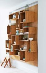 Бамбуковий шкаф для кухні