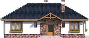Проект одноэтажного дома _Filipek B2