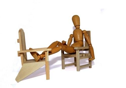 Как сделать стул из дерева?