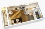 Какие достоинства имеет квартира-студия?