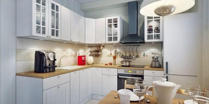 Правила освещения кухни и столовой