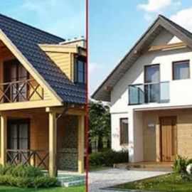 Выберите проект дома зимой — начните строить весной
