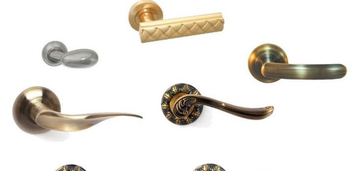 Материал дверной ручки — что выбрать?